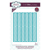 Creative Expressions - Background Collection - Dies - Herringbone