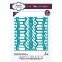 Creative Expressions - Endless Options Collection - Craft Die - Theresa Background