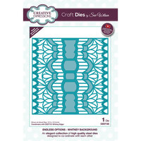 Creative Expressions - Endless Options Collection - Craft Die - Whitney Background