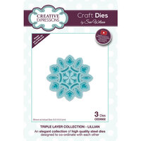 Creative Expressions - Triple Layer Collection - Dies - Lillian