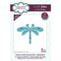 Creative Expressions - Triple Layer Collection - Dies - Dragonfly