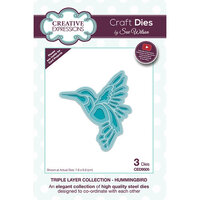 Creative Expressions - Triple Layer Collection - Dies - Hummingbird