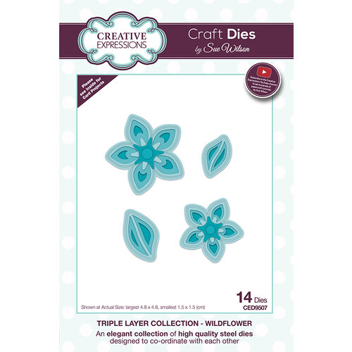Creative Expressions - Triple Layer Collection - Dies - Wildflower