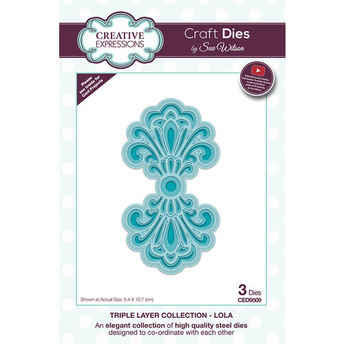 Creative Expressions - Triple Layer Collection - Dies - Lola