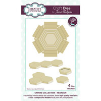 Creative Expressions - Canvas Collection - Craft Dies - Hexagon