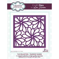 Creative Expressions - Tile Collection - Dies - Teardrop Daisies
