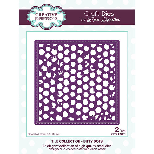 Creative Expressions - Tile Collection - Dies - Bitty Dots