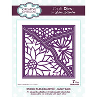 Creative Expressions - Broken Tiles Collection - Dies - Sunny Days