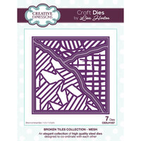 Creative Expressions - Broken Tiles Collection - Dies - Mesh