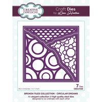 Creative Expressions - Broken Tiles Collection - Dies - Circular Dreams