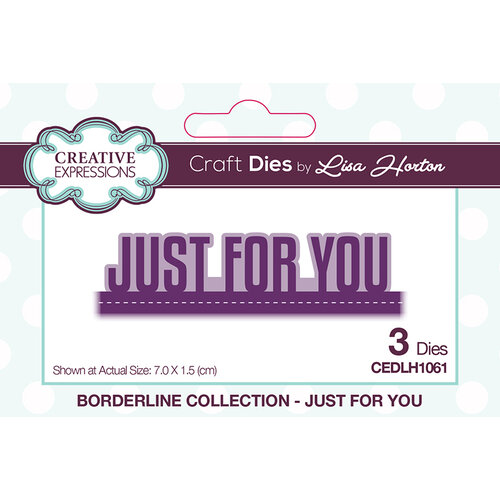 Creative Expressions - Borderline Collection - Dies - Just For You