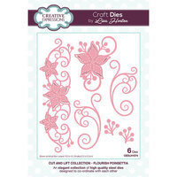 Creative Expressions - Cut and Lift Collection - Dies - Flourish Poinsettia