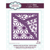 Creative Expressions - Christmas - Broken Tiles Collection - Dies - Wintry Skies