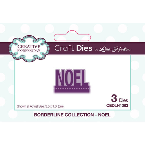 Creative Expressions - Christmas - Borderline Collection - Dies - Noel