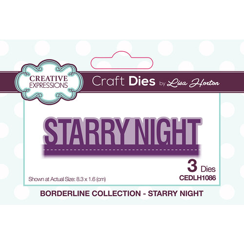 Creative Expressions - Borderline Collection - Dies - Starry Night