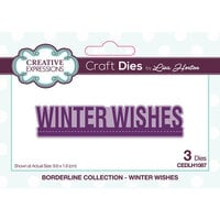 Creative Expressions - Borderline Collection - Dies - Winter Wishes