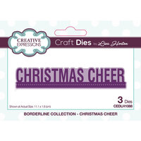 Creative Expressions - Borderline Collection - Dies - Christmas Cheer