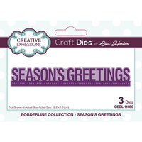 Creative Expressions - Christmas - Borderline Collection - Dies - Seasons Greetings
