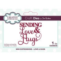 Creative Expressions - Mini Expressions Collection - Craft Dies - Love and Hugs