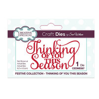 Creative Expressions - Christmas - Craft Die - Festive Mini Expressions - Thinking Of You This Season