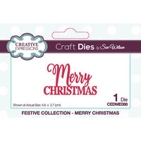 Creative Expressions - Craft Dies - Mini Expressions - Merry Christmas