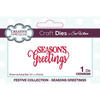Creative Expressions - Christmas - Craft Dies - Mini Expressions - Seasons Greetings