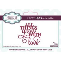 Creative Expressions - Craft Dies - Mini Expressions - All Things Grow With Love