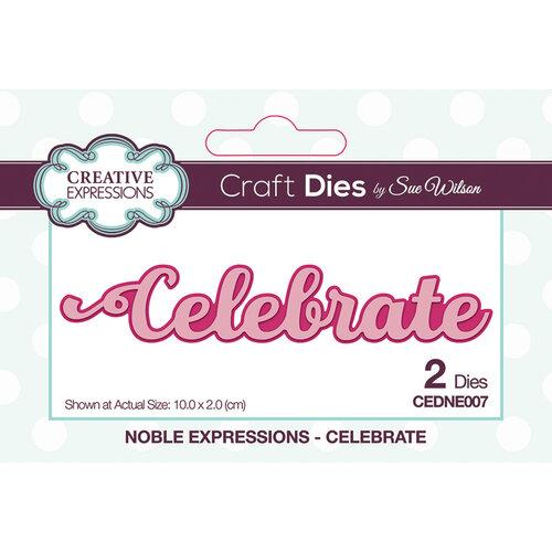 Creative Expressions - Noble Expressions Collection - Craft Dies - Celebrate