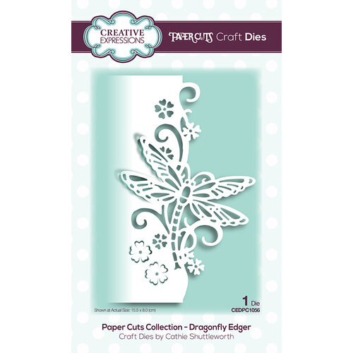 Creative Expressions - Paper Cuts Collection - Dies - Dragonfly Edger