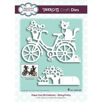 Creative Expressions - Paper Cuts 3D Collection - Dies - Sitting Pretty
