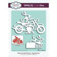 Creative Expressions - Paper Cuts 3D Collection - Dies - Dogs Day Out