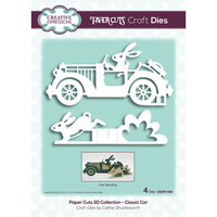 Creative Expressions - Paper Cuts 3D Collection - Dies - Classic Car