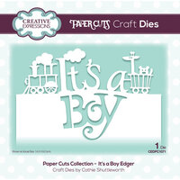 Creative Expressions - Paper Cuts Collection - Dies - It's a Boy Edger