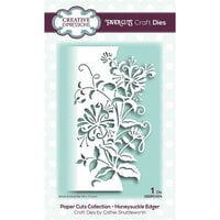 Creative Expressions - Paper Cuts Collection - Craft Die - Honeysuckle Edger