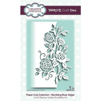 Creative Expressions - Paper Cuts Collection - Craft Die - Rambling Rose Edger