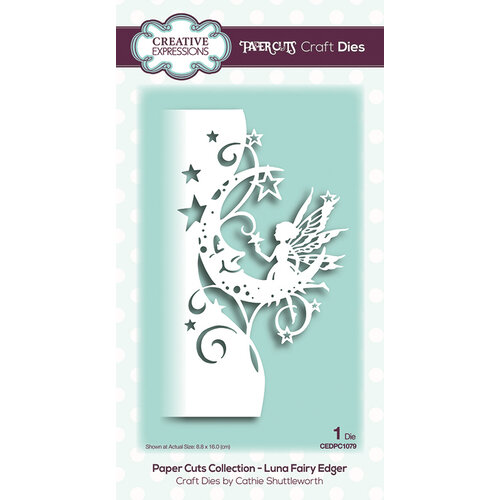 Creative Expressions - Paper Cuts Collection - Craft Die - Luna Fairy Edger