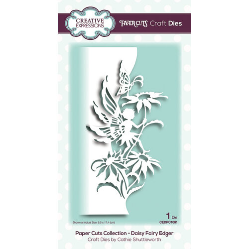 Creative Expressions - Paper Cuts Collection - Craft Die - Daisy Fairy Edger