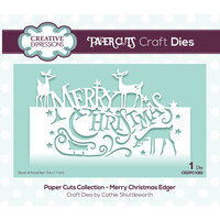 Creative Expressions - Paper Cuts Collection - Craft Die - Merry Christmas