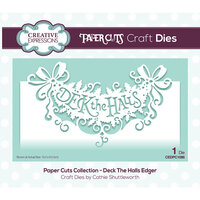Creative Expressions - Christmas - Paper Cuts Collection - Craft Die - Deck the Halls