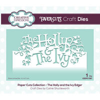 Creative Expressions - Christmas - Paper Cuts Collection - Craft Die - The Holly and the Ivy