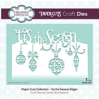 Creative Expressions - Paper Cuts Collection - Craft Die - 'tis the Season