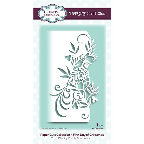 Creative Expressions - Paper Cuts Collection - Craft Die - First Day of Christmas