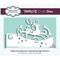 Creative Expressions - Christmas - Paper Cuts Collection - Craft Die - Dashing Through The Snow