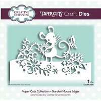 Creative Expressions - Paper Cuts Collection - Craft Die - Garden Mouse Edger