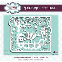 Creative Expressions - Paper Cuts Collection - Craft Dies - Cock A Doodle Doo