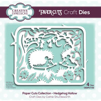 Creative Expressions - Paper Cuts Collection - Craft Dies - Hedgehog Hollow