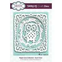 Creative Expressions - Paper Cuts Collection - Craft Dies - Acorn Owl