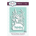Creative Expressions - Paper Cuts Collection - Craft Die - Harvest Owl