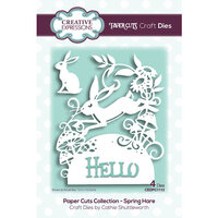 Creative Expressions - Paper Cuts Collection - Craft Die - Spring Hare