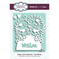 Creative Expressions - Paper Cuts Collection - Craft Die - Love Birds